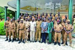 Burkina – Sécurité présidentielle : De nouveaux commandos pour veiller augrain