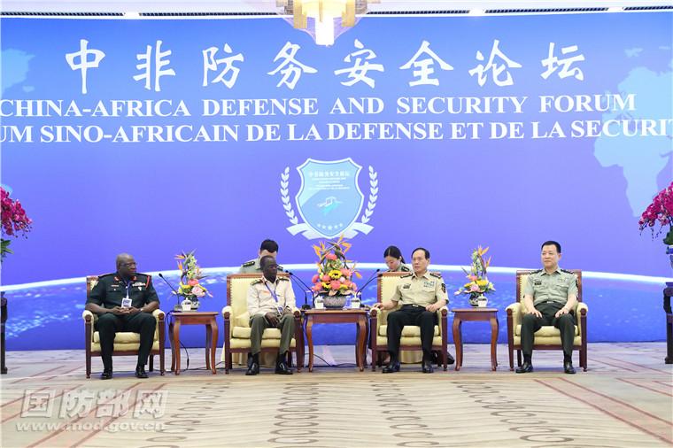 La Chine promouvra la coopération en matière de défense et de sécurité avecl'Afrique