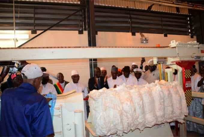 Mali/Kadiolo : La CMDT compte désormais 18 usines avec une capacité annuelle d'égrenage de 620 000 tonnes de cotongraine