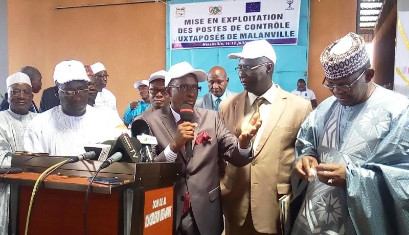 Niger-Bénin : mise en service du Poste de contrôle juxtaposé de Malanville, un puissant outil d'intégration au sein de l'espaceUEMOA