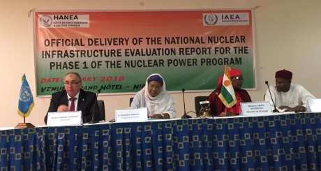Niger : IAEA praises Niger's progress on nuclear programme #Uranium