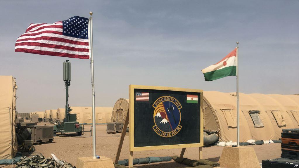 Une base aérienne américaine proche des frontières sudalgérienne