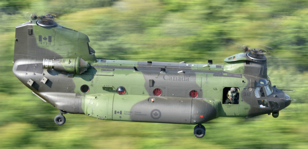 Mali/Canada – RCAF helicopters begin troop transport inMali