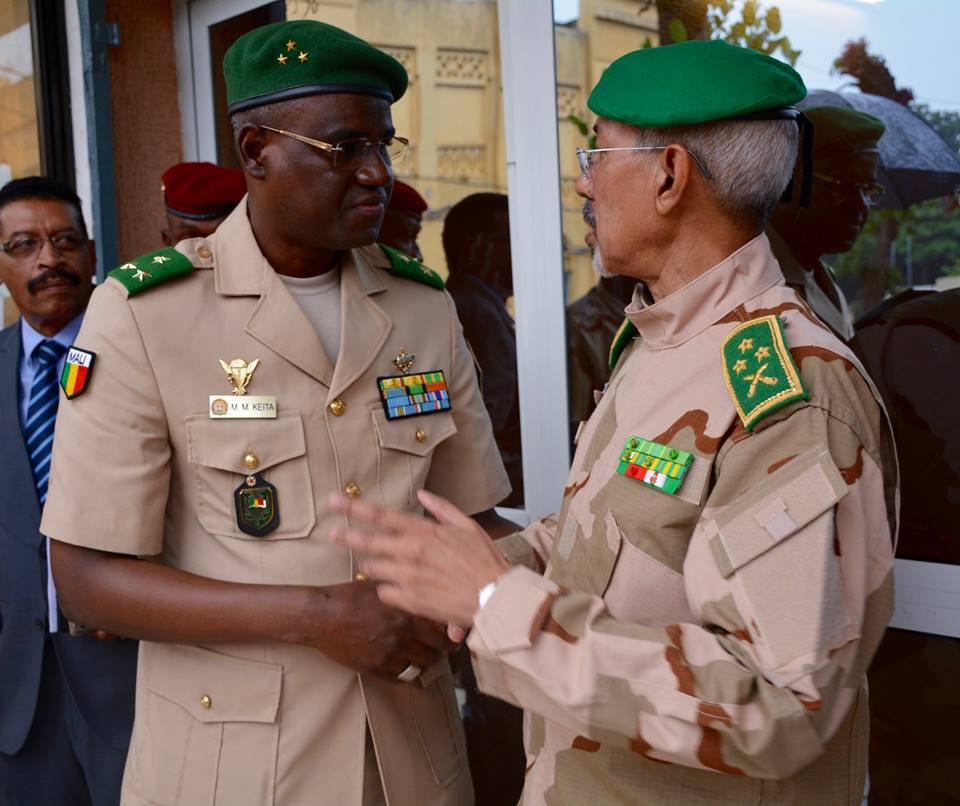 Mali – visite du nouveau commandant du G5-Sahel àBamako
