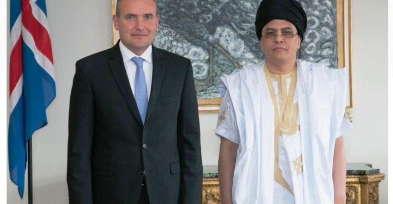 Mauritanie – Etablissement de relations diplomatiques entre la Mauritanie etl'Islande