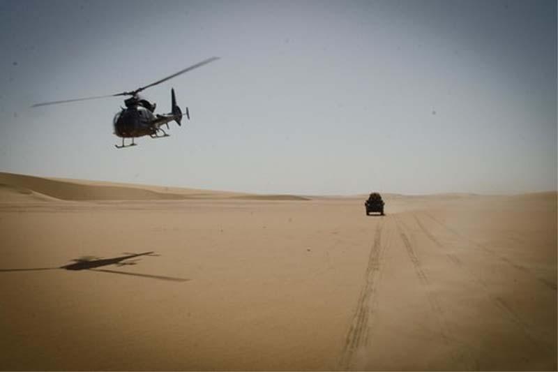 Tchad/Militaire : des hélicoptères de l'armée sillonnent l'extrêmenord