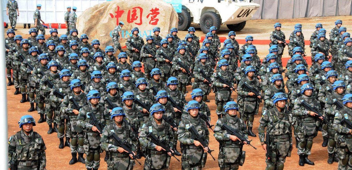 La Chine envoie 165 casques bleus au Soudan duSud