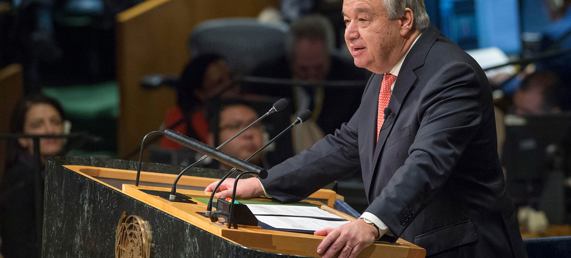 UN chief pleased with anti-money laundering efforts in Nigeria, Tunisia