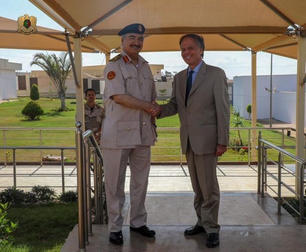 Libya/Italy – Source: Haftar demands Italy change its ambassador inTripoli
