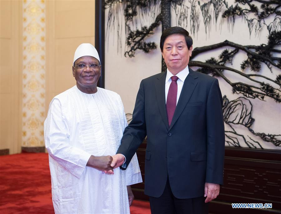 Mali/Chine – Le plus haut législateur chinois rencontre le présidentmalien