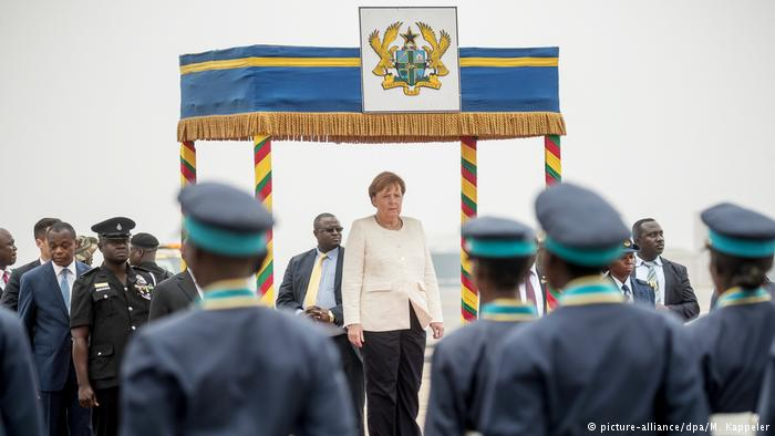 Opinion: Angela Merkel in Africa — A transparent tour