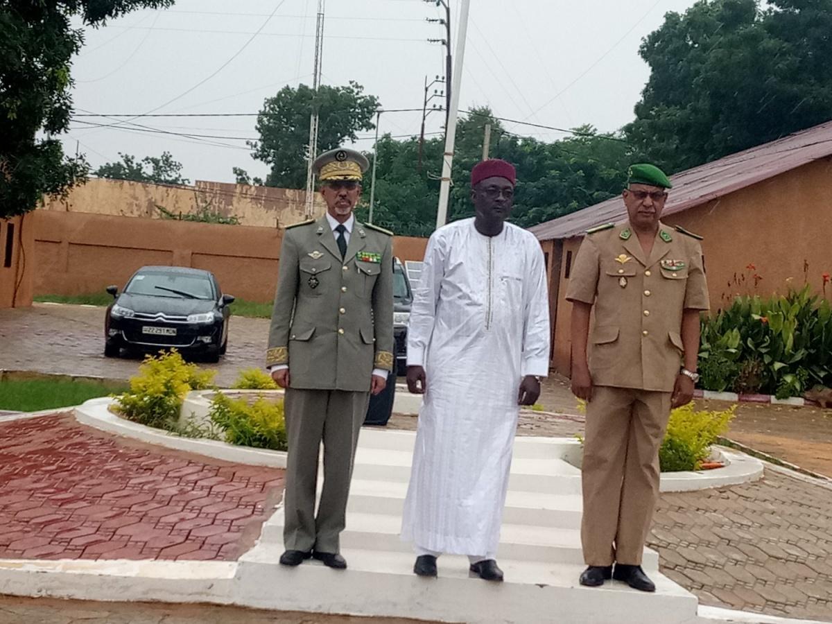 Niger – Le commandant du G5-SAHEL reçu par le président Nigérien(07/09)