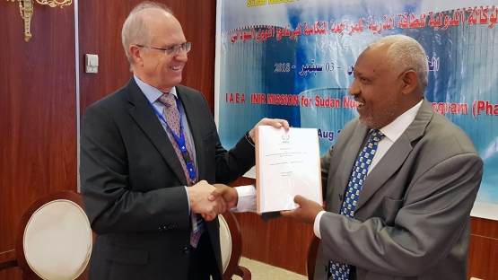 Nuclear – IAEA Reviews Sudan's Nuclear Power Infrastructure Development