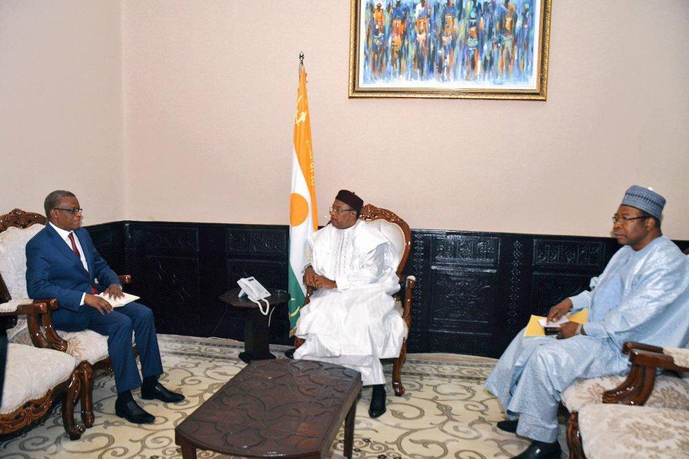 Niger – Le chef d'État Nigérien s'entretient avec le Secrétaire Permanent du G5Sahel