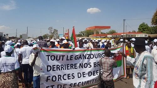 Burkina – Lutte contre le terrorisme : Zorgho solidaire des FDS et du président RochKaboré