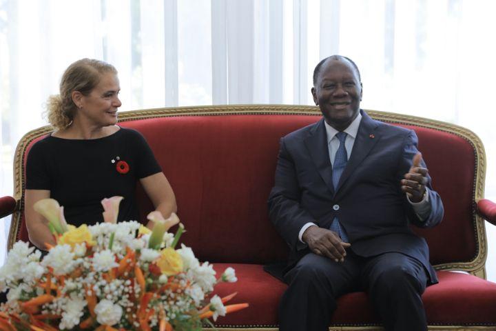La Côte d'Ivoire et le Canada veulent renforcer leurcoopération