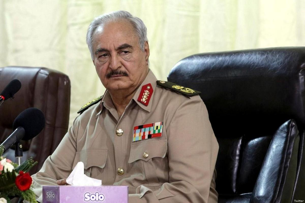 Ex-Libya official sues Haftar in US
