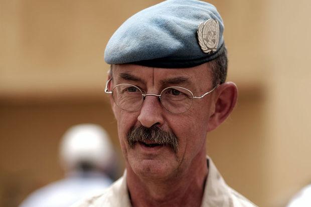 Mali – Fin de mission pour le général Deconinck, chef des Casques bleus auMali
