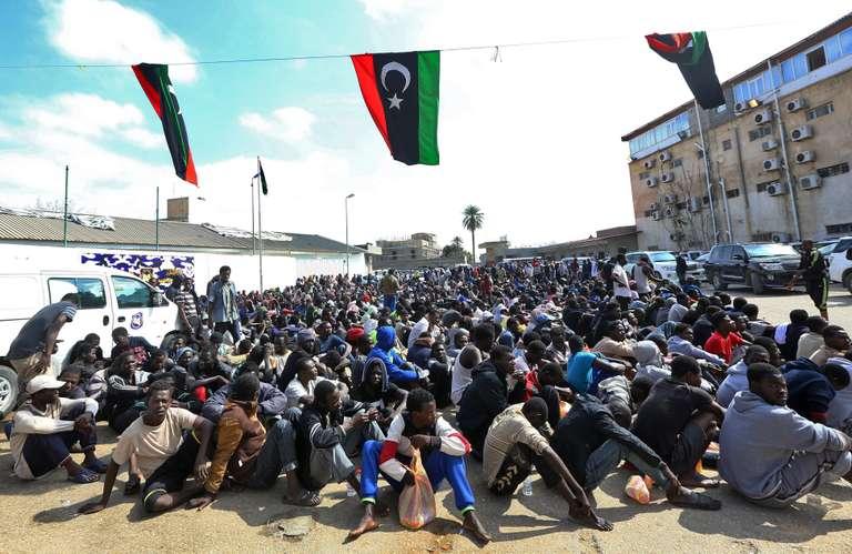 Plus de 600.000 clandestins actuellement en Libye(OIM)