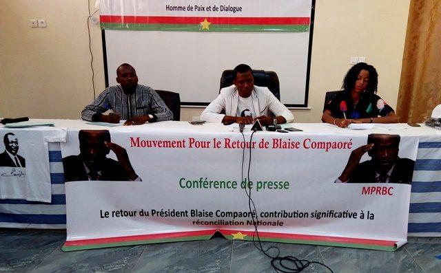 Burkina Faso – Un mouvement plaide pour le retour de Blaise Compaoré dans «un climatapaisé»
