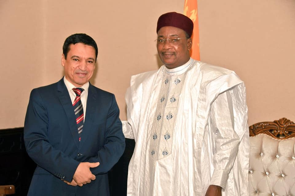 Niger / Libye – Le chargé d'Affaires de l'Ambassade de la Libye au cabinet du Président de laRépublique