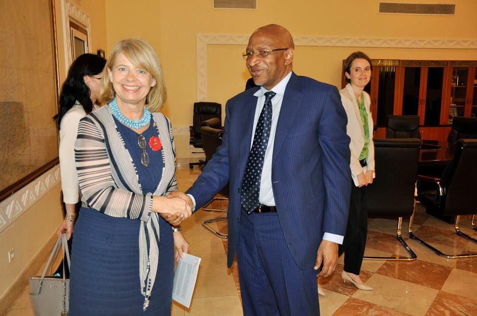 Mali/UK – Le Premier ministre Soumeylou Boubèye MAIGA reçoit madame Harriett BALDWIN, ministre chargée des affaires africaines du RoyaumeUni