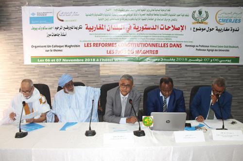 Mauritanie –  Séminaire sur les réformes constitutionnelles dans les pays duMaghreb
