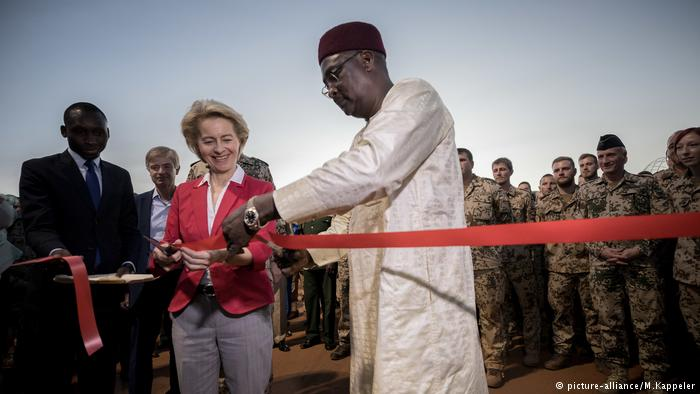Niger – Germany opens new military camp in Niger