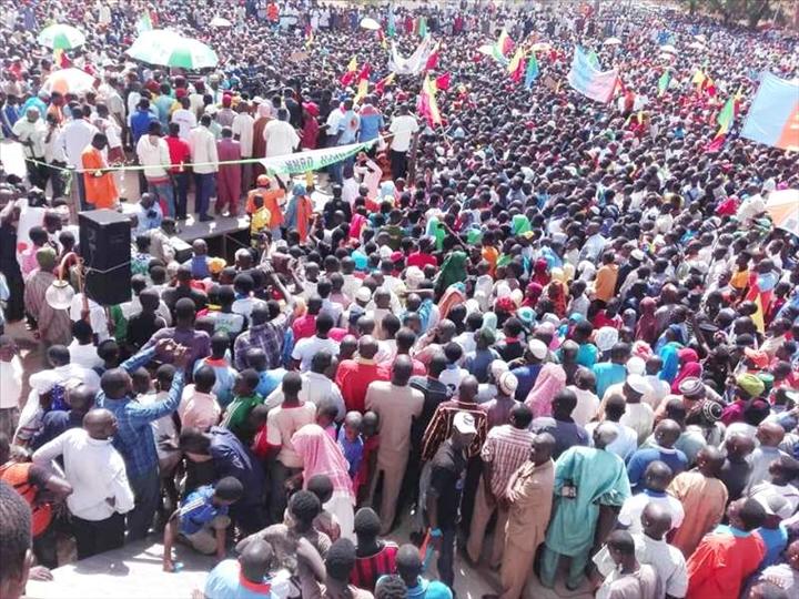 Niger –  Forte mobilisation à la manifestation de l'opposition, qui réclame « un code électoral consensuel et une bonne gouvernance»