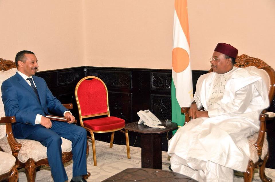 Niger/Maroc – Le chef de l'Etat reçoit l'ambassadeur du royaume duMaroc