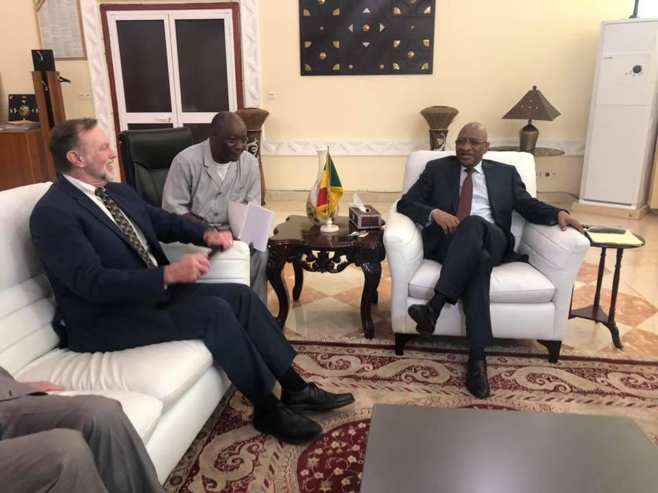 Mali-USA – La sécurité et les questions de développement au cœur des échanges entre SBM et le sous-secrétaire d'Etat américain aux affairesafricaines