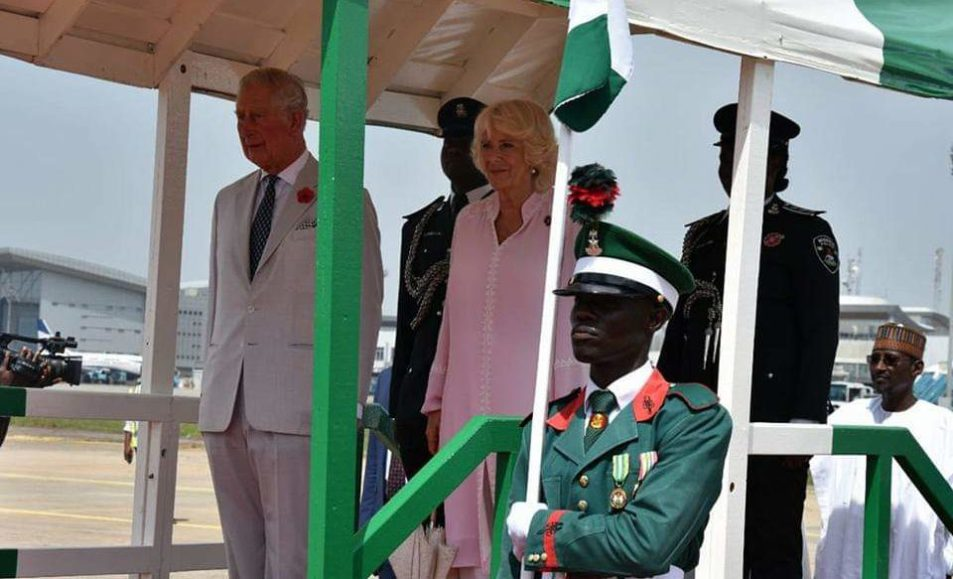 Nigeria/UK – Buhari receives UK's PrinceCharles