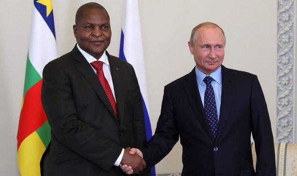 France hits out at Putin over NEW plot – 'Africa does NOT belong to Russia' #Uranium