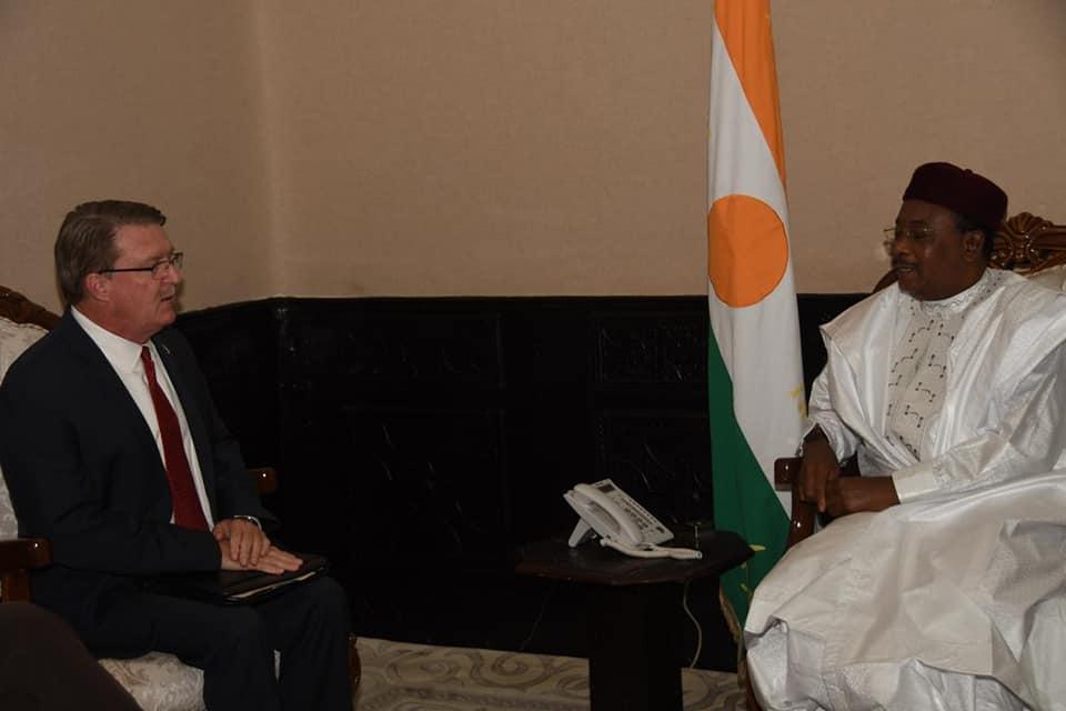 Niger : les Etats-Unis informent le président Issoufou des résultats de l'enquête sur la mort des militaires à TongoTongo