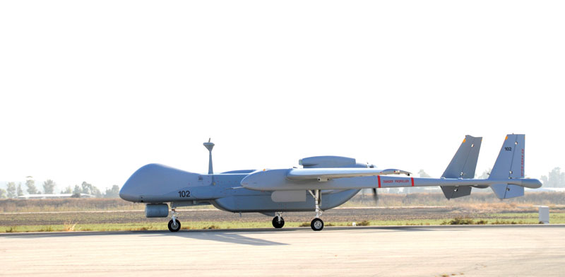 The German Air Force has been using Israel Aerospace's UAVs in Afghanistan since 2010 and in Mali since2016