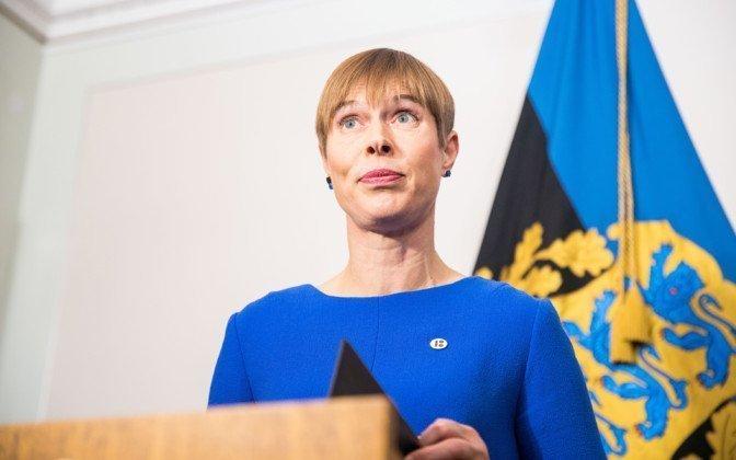 Estonie/Bénin – La présidente Estonienne attendue auBénin