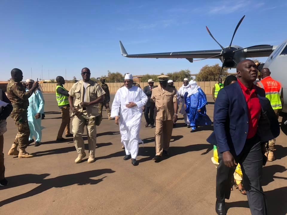 Mali / Gao: le Premier ministre Soumeylou Boubeye Maïga en visite dans la cité des Askia pour évaluer la situation sécuritaire et soutenir la cohésionsociale