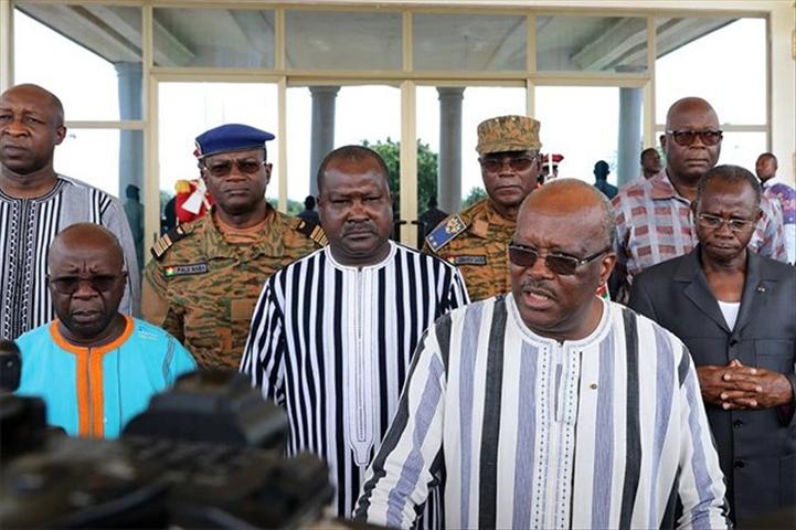 Burkina Faso : le Conseil supérieur de la défense nationale évalue l'évolution de la situation sécuritaire dupays