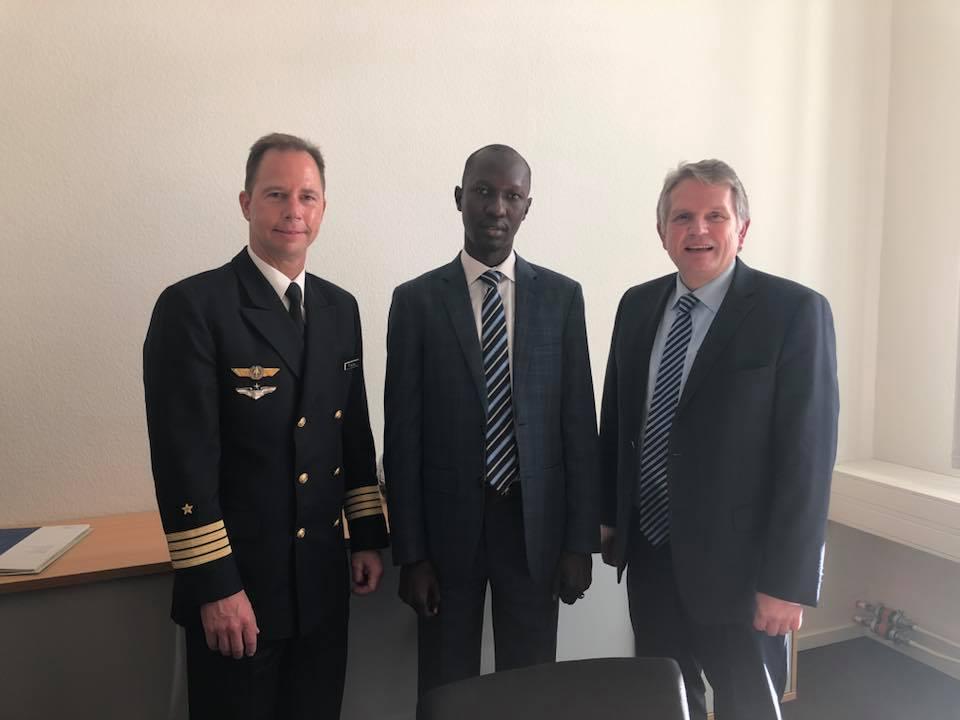 Mali/Allemagne – ADP Maliba: Amadou Thiam reçu au Ministère de la Défense allemand(28/11/2018)