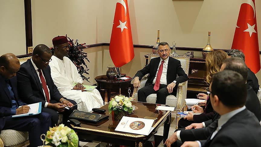 Turkey's vice president receives Niger mining minister