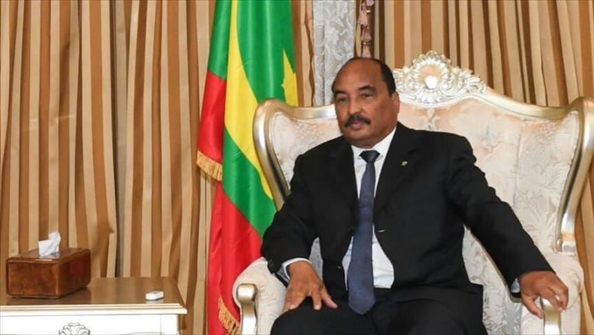 Mauritania leader backs defense minister for presidency