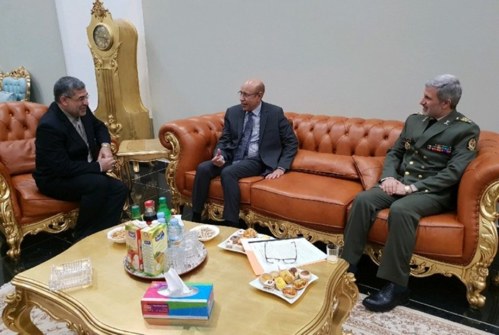 Iran Defense minister arrives in Mauritania (09/01)