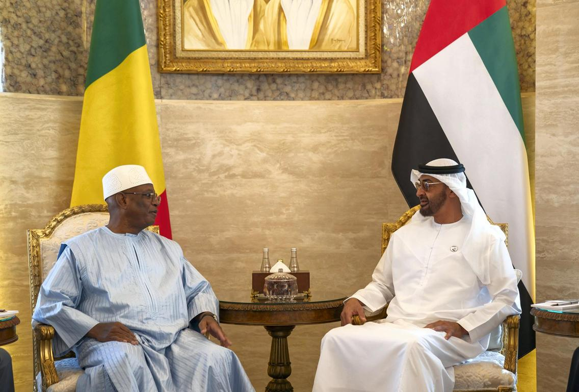 Mali / UAE – Abu Dhabi Crown Prince Receives Malian President