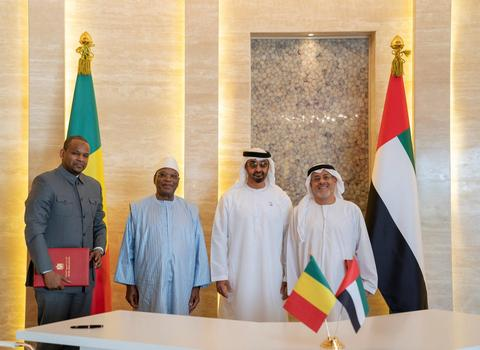 Mali / UAE – AD CP receives Mali leader, signs $25m agreement