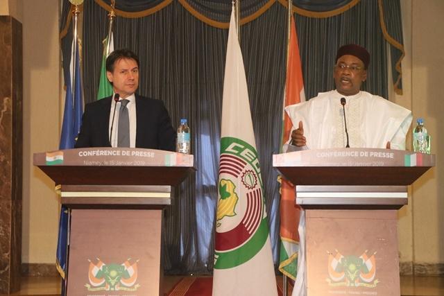 Niger – Trafics : Nous avons pour défis communs de joindre nos luttes (Premier ministreitalien)