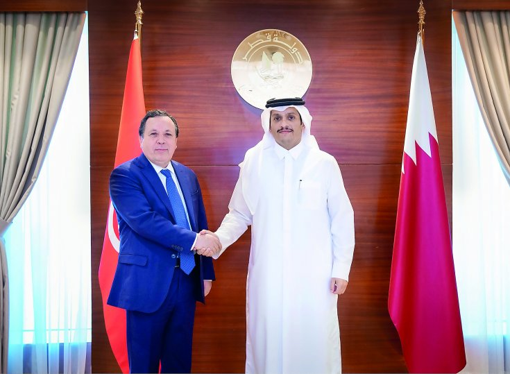 Qatar, Tunisia discuss bilateral relations