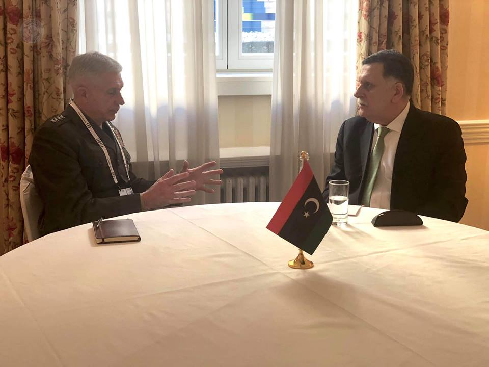 Libya – Al-Sarraj seeks broader cooperation with Africom