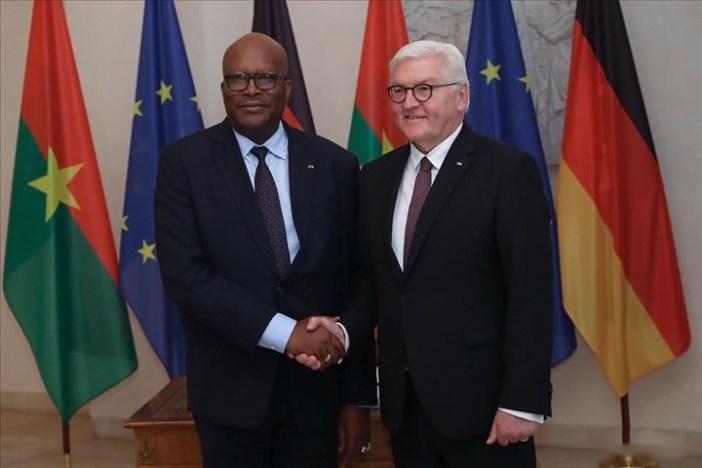 Burkina Faso/Allemagne – Roch Marc Kaboré  reçu à Berlin par le président fédéralallemand