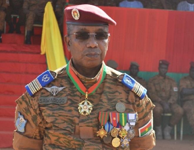 Burkina Faso- Groupement central des armées : Le Colonel-major Oumarou Sawadogo auxcommandes