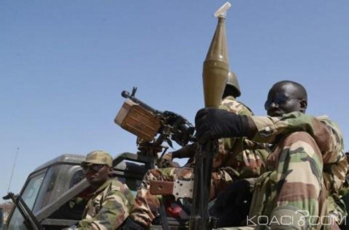 Niger : reddition d'une centaine de rebelles dans le nord-est, proche de la frontière avec laLibye